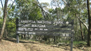 Mt Majura nature park