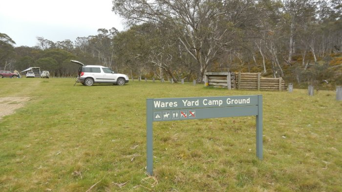 Wares Yard Camp Ground - A popular place for horsing around :)