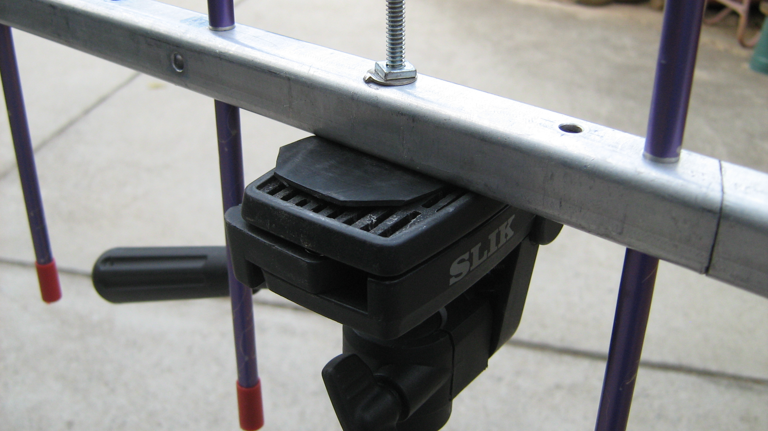 70 cm Yagi Tripod Mount | Get out of the Radio Shack and
