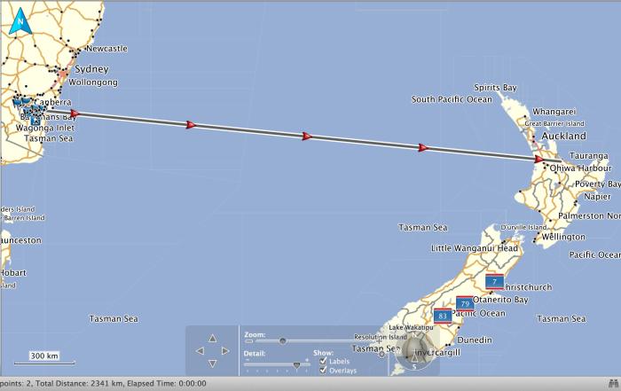 2340 km path at QRP 5watts